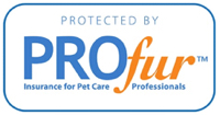 Protected by ProFur Insurance for Pet Care Professionals.